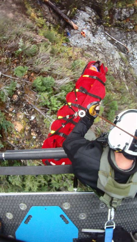 Will County Search Snohomish County Search And Rescue Team Transports Injured Hiker From Mt Vesper