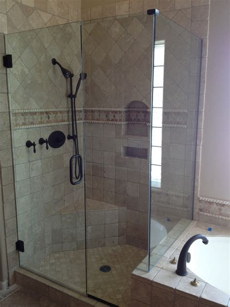 simple design frameless glass shower stalls home interiors