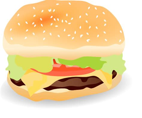 hamburger clipart hamburger clip at clker vector clip