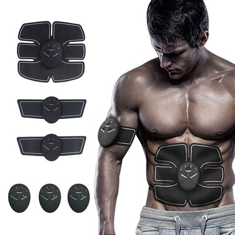 Smart Abs Trainer durable smart stimulator fitness gear abdominal exerciser toning belt battery