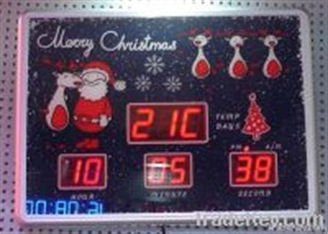 outdoor christmas countdown digital clock led countdown digital clock as gift by jidelong fujian china electronic co ltd china
