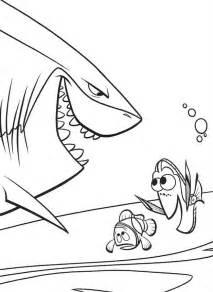 kolorowanka gdzie jest nemo marlin dory rekin