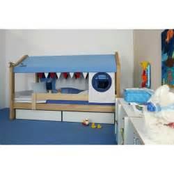 lit enfant cabane et 2 tiroirs marin de breuyn