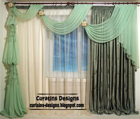 Unique Window Curtains Decorating Curtain Designs