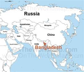 Bangladesh World Map by Bangladesh Maps Maps Of Bangladesh Ontheworldmap Com