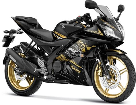 Yamaha All New R15 Matte Black yamaha r15 v2 new colors prices grid gold raring invincible black racing blue