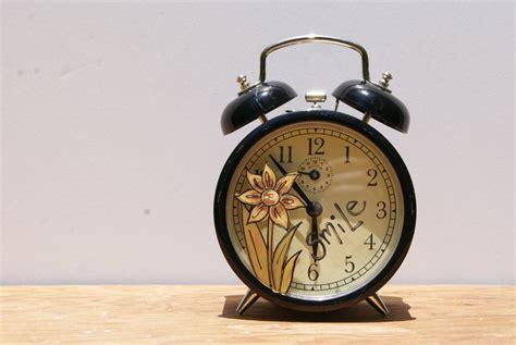 retro alarm clock double bell retro alarm clock  black