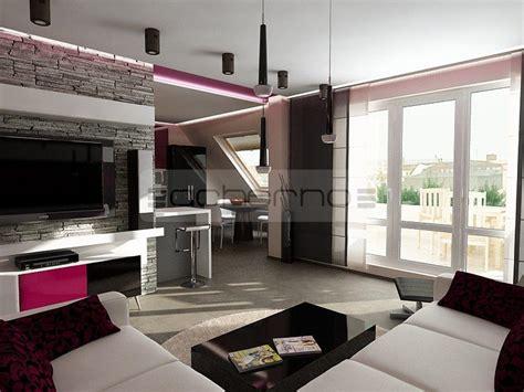 wandgestaltung wohnzimmer erdtöne luxus k 252 che mit insel