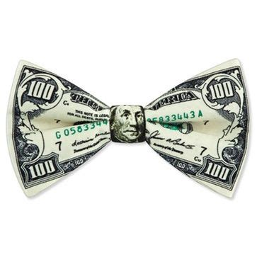 Bow Tie Dollar Bill Origami - 100 dollar bill bow tie bow ties dollar