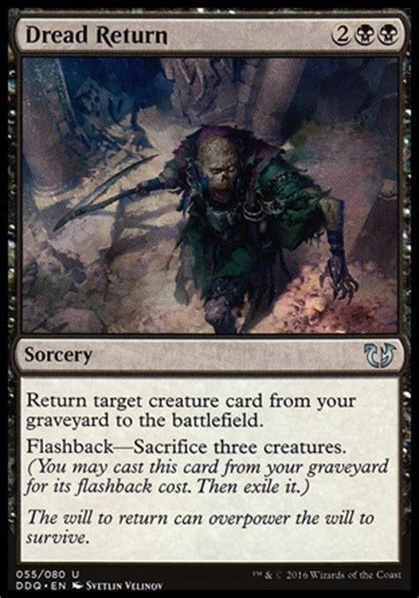 Target Gift Card Return - o return o target o creature o card o from o your o graveyard o to o the o battlefield