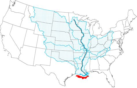 united states outline map with rivers best photos of mississippi river map united states us