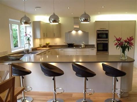 breakfast bar lights 17 best images about kitchen on open plan