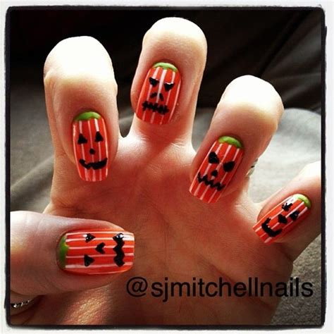 nails pumpkin 17 best images about pumpkin nails on nail
