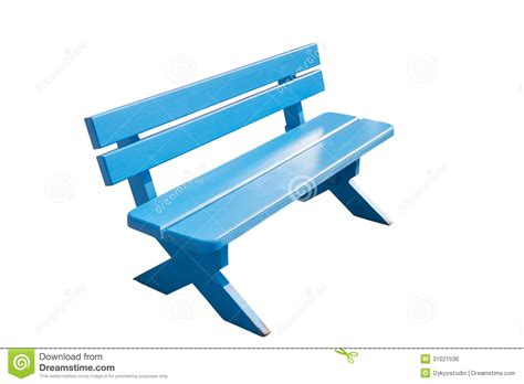 blue wood bench vintage blue wooden bench royalty free stock image image