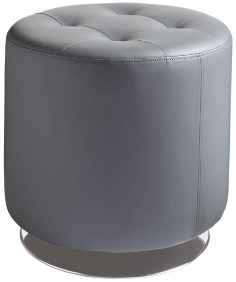 Small Grey Ottoman domani grey small swivel ottoman 1008 sunpan modern home