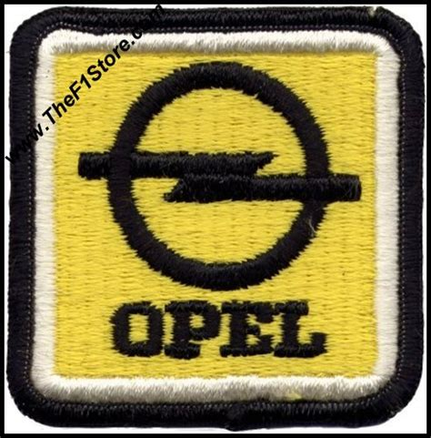 Tshirt Mobil Opel vintage opel automobiles sew on patch opelpatch01