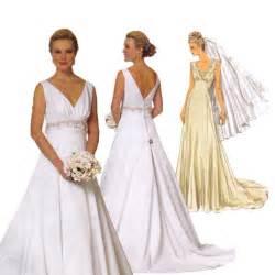 wedding dress patterns wedding dress sewing pattern butterick 5462 bridal gown