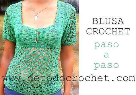 blusa tejida a crochet para verano parte 1 de 2 blusa crochet 4 piezas parte 2 de 4 blusa tejida para