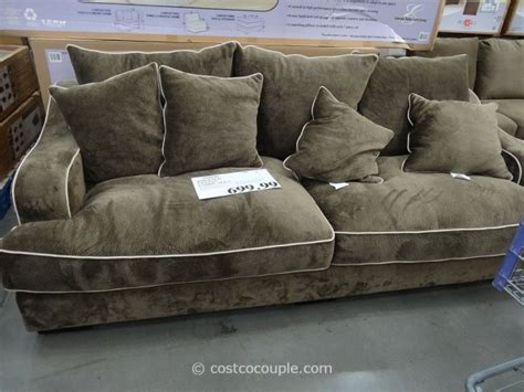 emerald sectional sofa costco emerald gianna fabric sofa