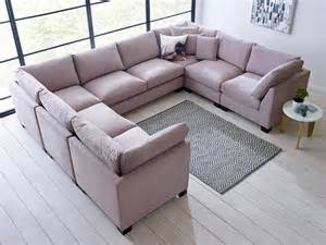 u shaped sofa isabelle u shape sectional living it up