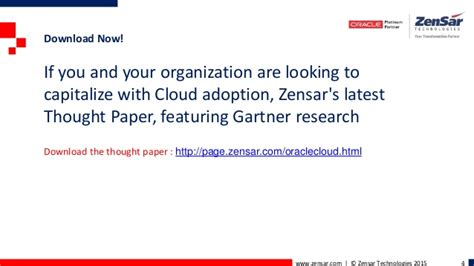 gartner research papers excerpts from the thought paper gartner zensar thought