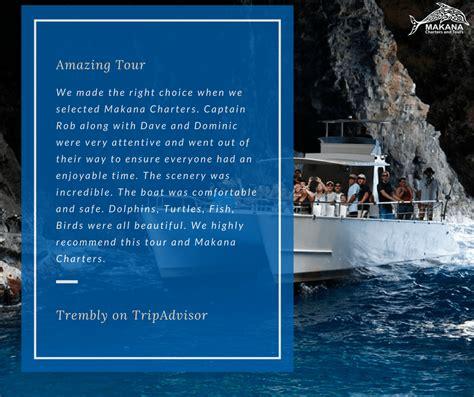 makana boat tours kauai na pali coast boats makana charters and tours