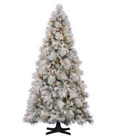 hallmark flocked artificial christmas tree tree classics