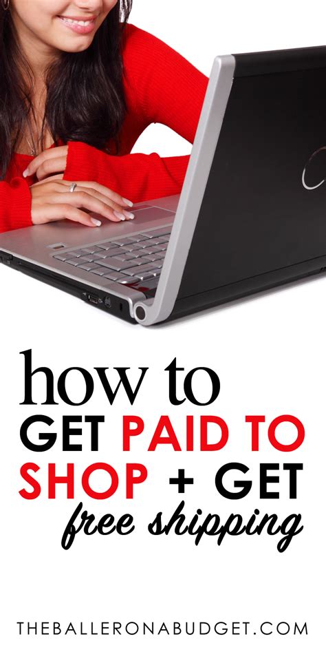 Get Paid To Shop - get paid to shop with freeshipping com the baller on a budget