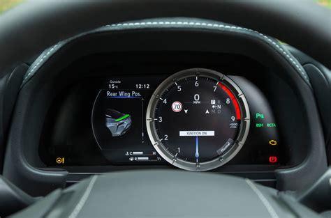 how cars run 1997 lexus lx instrument cluster lexus lc review 2018 autocar