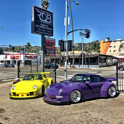 rwb porsche yellow los angeles welcomes rauh welt begriff build with