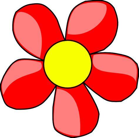 free printable flowers clip art red flower clip art at clker com vector clip art online