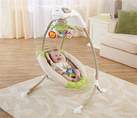 baby sleeping in swing at night best baby swing easy tips to get the convenient and safe