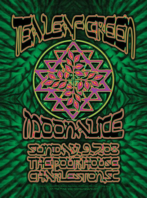 pour house charleston sc 9 07 08 the pour house charleston sc poster by dave hunter moonalice posters