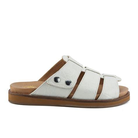Flat Shoes Croco hudson s sparta flat croc leather slip on