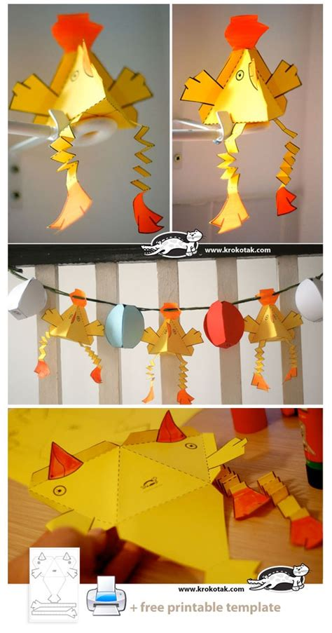 Easter Paper Crafts - easter paper crafts craft easter