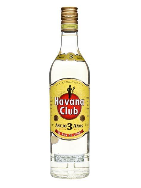 Havana club 3 year old rum anejo the whisky exchange