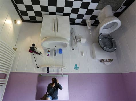 reuters bathroom there s a house in germany that was built upside down