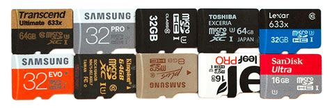 best sd cards top 10 best microsd memory cards 2015