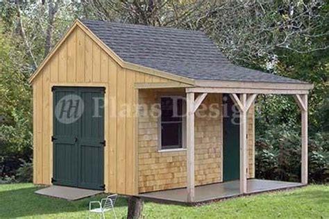 cottage cabin shed plans blueprints