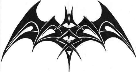 bat tribal tattoo tribal bat by b3a5t on deviantart