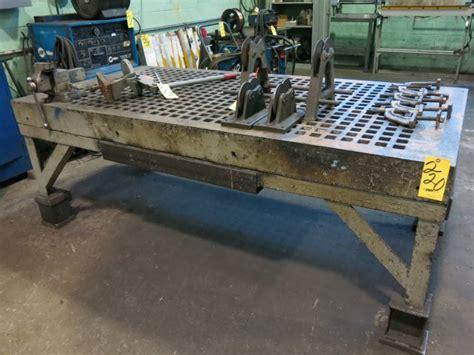 acorn welding table acorn welding table 8 ft x 4 ft