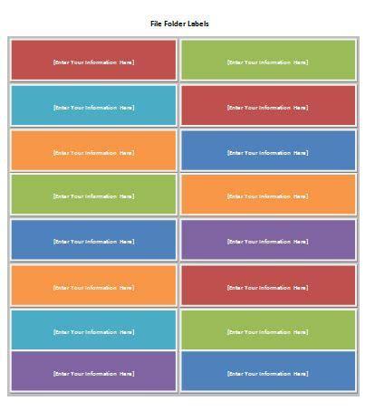 Free File Folder Label Template At Wordtemplatesbundle Com Microsoft Templates Pinterest File Folder Template