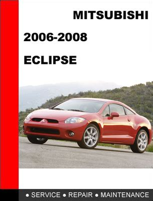 mitsubishi eclipse repair manuals free download carmanualshub mitsubishi eclipse 2006 2008 factory service repair manual downlo