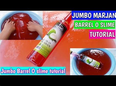 Slime Barrel O Slime Fossil Putih diy jumbo marjan barrel o slime tutorial
