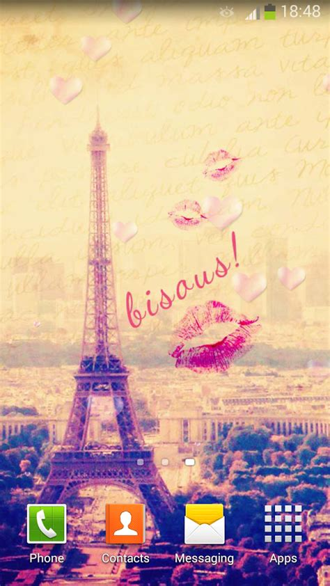 wallpaper bergerak menara eiffel download gratis paris lucu wallpaper animasi gratis paris