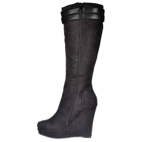 shoekandi knee high winter boots lined with high