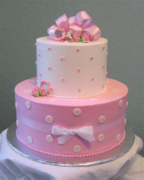 pink polka dot baby shower cake  photo  flickriver