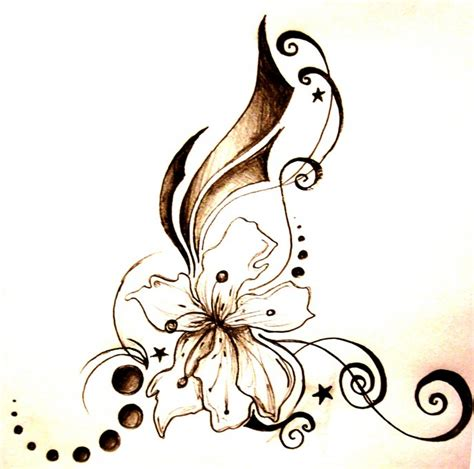 wallpaper flower tattoo abstract unique flower tattoo hd wallpaper butterfly