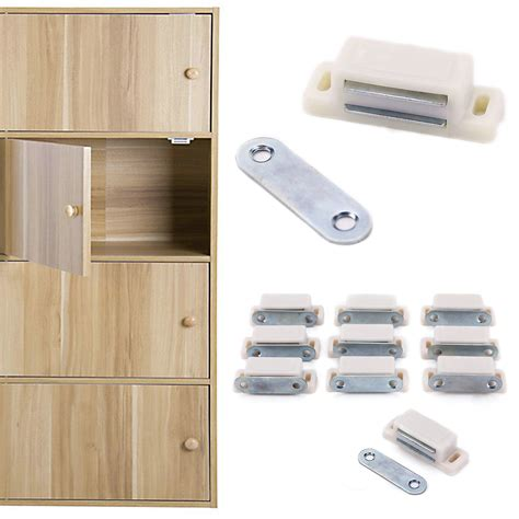 Kitchen Cabinet Door Catches | 10pcs magnetic door catches for kitchen cabinet cupboard