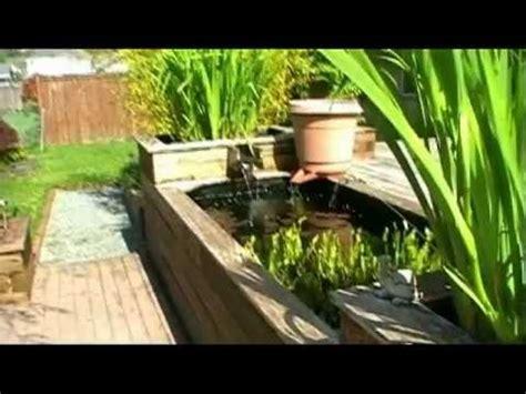 learn   build   raised koi pond youtube